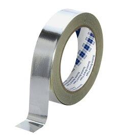 3M 導電性アルミ箔テープ No.AL-25BT 25mm幅x3m テープ厚さ(mm):0.025 引っ張り強さ(kgf/cm・N/cm):1.7/17 粘着力(gf/cm・N/cm):350/3.4 接触抵抗(Ω):0.01