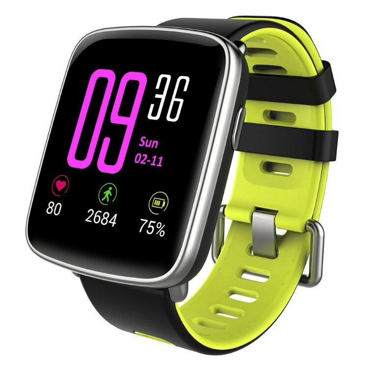 スマートウォッチ、Yamay 1.54インチHD画面スマートブレスレット 心拍計 活動量計 多機能腕時計 Bluetooth通話機能搭載(SIMカードなし) SMS通知 歩数計 消費カロリー ス 睡眠検測 座りっぱなし警告 遠隔音楽 IP68防水 水泳可能 日本語説明書 (グリーン)