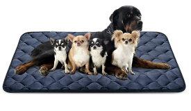 Hero Dog ペットマット 犬 ペットベッド クッション 犬 ケージ用敷物 防寒 滑り止め 洗える 肌触りのよいフランネル使用 柔らかい 眠りクッション 寝心地がよい 4カラー6サイズ選択可(グレー XXL)140×100cm