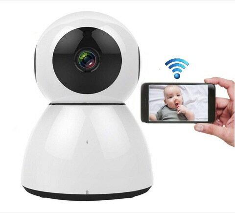 ネットワークカメラ 1080P 200万画素 防犯カメラ WIFIワイヤレス監視カメラ ベビーモニター 双方向音声 PTZ制御 警報機能 暗視撮影 遠隔操作 ペット、子供、老人等留守番 スマホ、ipad、パソコン対応 日本語説明書