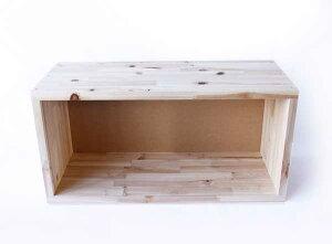 YK16-003FREEBOX(W)フリーボックス(W)集成材BOX収納棚組み合わせ積み重ね長方形本棚ヤマト工芸