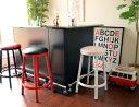 ノルディック74 BK/WH/RED Nordic カウンタースツール ビビットカラー 丸型ハイチェアー ハイスツール 【送料無料】