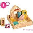 音いっぱいつみき Ed.Inter エド・インター 森のあそび道具 木製おもちゃ 知育玩具 積み木 1才- (336-130424-020)