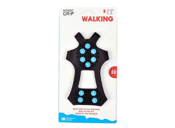 NORDIC GRIP ノルディックグリップ WALKING ウォーキング S ND-3010 ブラック