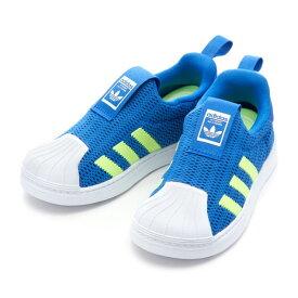 ベビー 【adidas】 アディダス SS 360 I (12-16) スーパースター CG6583 BLU/YEL