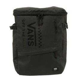 【VANSウェア】FLV Rectangular Back Pack 30L ヴァンズ バックパック VA19FW-MB50AB BLK/BLK