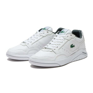 【LACOSTE】 ラコステ GAME ADVANCE LUXE 1121 1 ゲームアドバンス LUXE SM00861 1R5 WHT/DK GRN