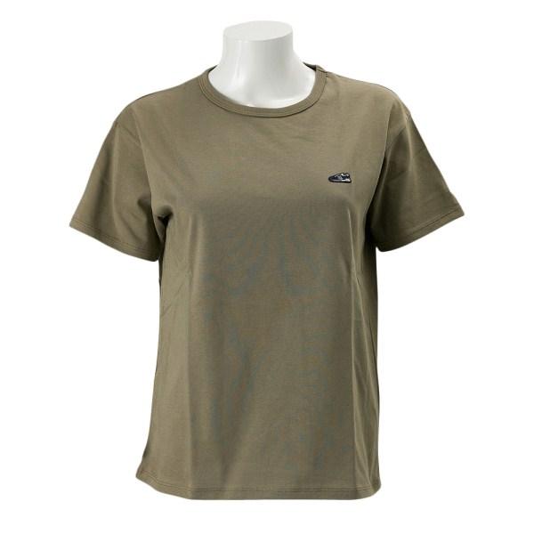 レディース 【NEW BALANCEウェア】 ニューバランス オーバーサイズワッペンTシャツ JWTL7220CGN 17SS コバルトグリーン(CGN)