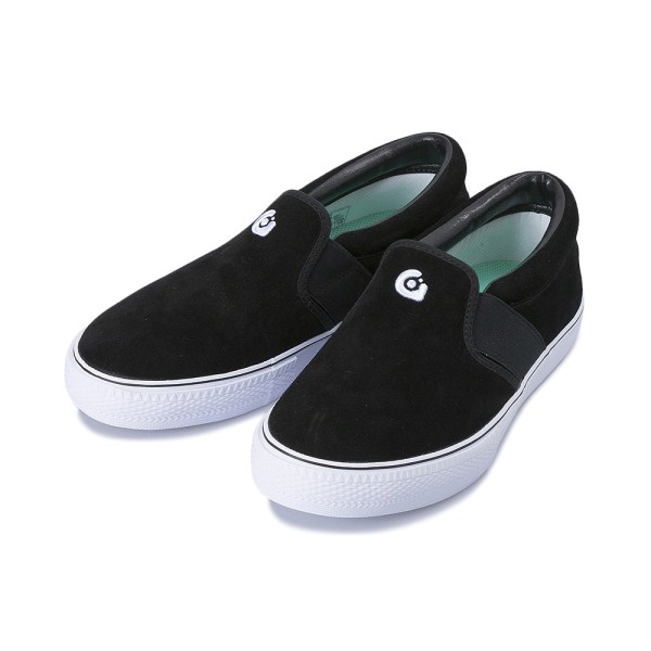 【gravis】 CLAYMORE SUEDE グラビス クレイモア スエード 10301 BLACK/WHITE