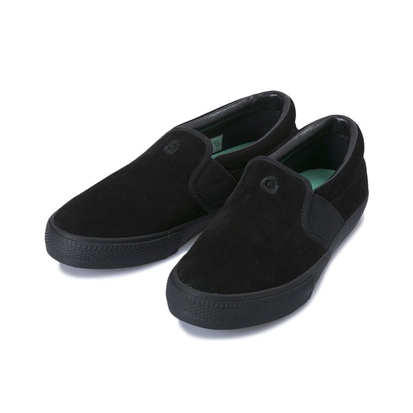 【gravis】 CLAYMORE SUEDE グラビス クレイモア スエード 10301 M.BLACK