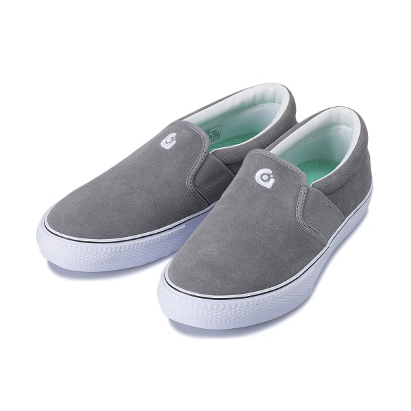 【gravis】 CLAYMORE SUEDE グラビス クレイモア スエード GRAY/WHITE
