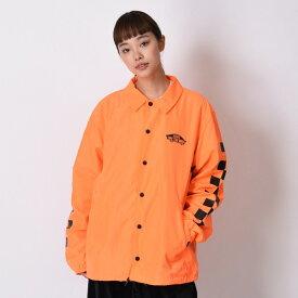 【VANS】Neon Color Coach Jacket ヴァンズ ネオンカラーコーチジャケット VA19SS-MJ04 N-ORANGE