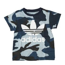 キッズ 【ADIDAS ウェア】 アディダスウェア Tシャツ K CAMO TEE カモ Tシャツ DW3847 19SP MULTIC/WHT