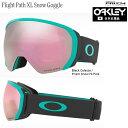 OAKLEY 20-21 Flight Path XL Snow Goggle  BLACK CELESTE/ PRISM Snow HI PINK IRIDIUM OO7110-18 /オークリー フ…
