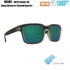 d7bc3fb50215 2018新作 □ SPY OPTICS スパイ   HELM2 ヘルム2   HAPPY LENS   Matte Black