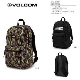 VOLCOM ボルコム【 ACADEMY 】 D6522003 【 MLT 】 BAGPACK バックパック バッグ BAG ■特別価格 ★ボルコム