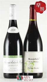 [2020]年ボジョレー・ヌーヴォー(750ml)2本[ワインセット](ルロワ&パカレ)【赤ワイン】【ミディアムボディ】【ブルゴーニュ】【正規品】【ハロウィン ハロウィーン パーティー】