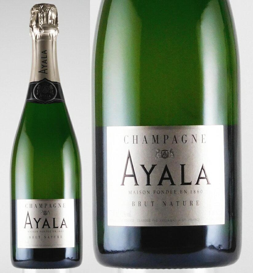 アヤラ・ブリュット・ナチュール NV 750ml 【正規品】【スパークリングワイン】【発泡】【白ワイン】【辛口】