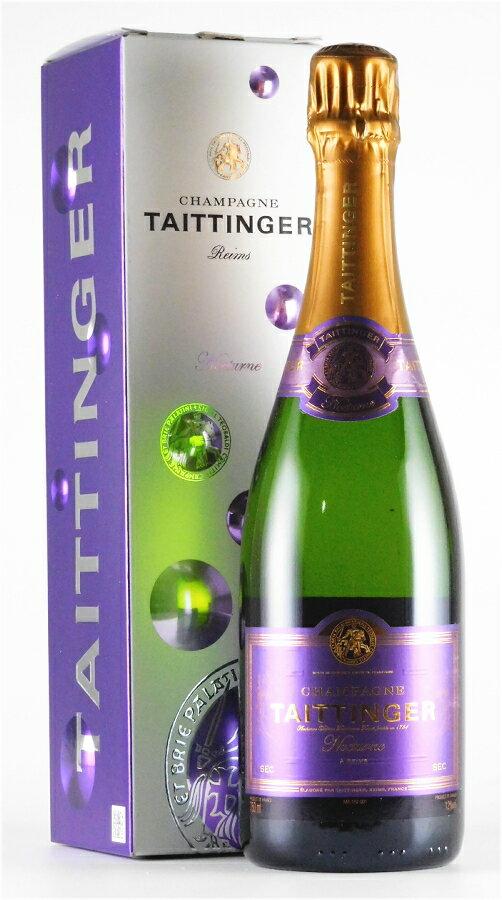 テタンジェ ノクターン セック NV 750ml【スパークリングワイン】【発泡】【白ワイン】【甘口】【正規品】