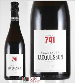 ジャクソン・エ・フィス・キュヴェ741 NV エクストラ ブリュット(箱なし/750ml)【白ワイン】【発泡】【辛口】【シャンパーニュ】【フランス】【正規品】
