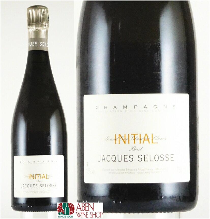 ジャック・セロス・ブリュット BB イニシャル NV(750ml)【スパークリングワイン】【発泡】【白ワイン】【辛口】
