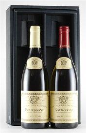 赤ワイン 白ワイン ブルゴーニュ フランス ルイジャド ブルゴーニュ 紅白セット 750ml【正規品】【白ワイン】【辛口】【赤ワイン】【フルボディ】