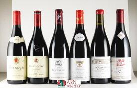 ブルゴーニュ赤ワイン6本6種類[ワインセット] 750mlPART-207【赤ワイン】【フルボディ】【ブルゴーニュ】【フランス】