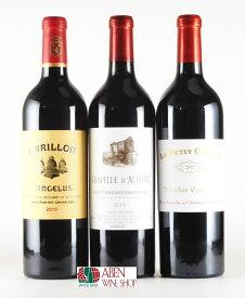 ボルドー サン・テミリオン第1特別級A のセカンドワイン3本セット