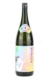 【日本酒】 虹色ばくれん 超辛口大吟醸 1.8L