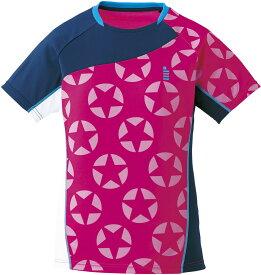 取寄せ品 【ゴーセン】 レディースホシガラゲームシャツ (T1711) 81 ピンク LL