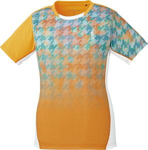 取寄せ品 【ゴーセン】 レディースゲームシャツ (T1807) 5 ネオンオレンジ S