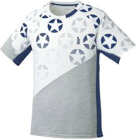 取寄せ品 【ゴーセン】 星柄ゲームシャツ (T1814) 30 ホワイト S