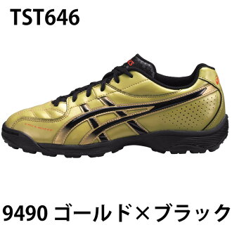 Light dies 5 Jr TF asics and football spikes / junior shoes /spike/DS LIGHT5 Jr TF (TST646) 9490 gold x black