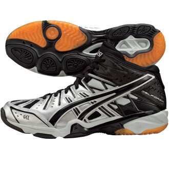 5 5 9390 gel Forza MT asics/ volleyball shoes /GEL FORZA MT (TVR461) silver X black