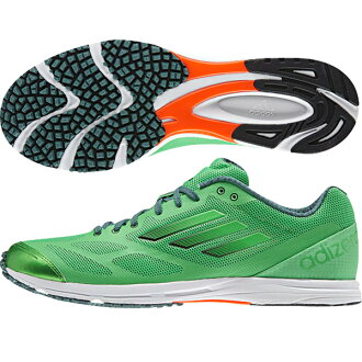 / adizero Feather RK 2 running shoes adidas running /adidas (B44251) K9 green S15 / K9 Green
