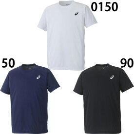 ネコポス選択可 【アシックス】 Tシャツ 半袖/トレーニングウェア/Tシャツ アシックス/スポーツウェア/asics (XA101N) ワンポイントTシャツ/ワンポイントT