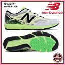 【ニューバランス】 NB HANZOT M W1 ランニングシューズ/newbalance/陸上 シューズ (MHANZTW1) W1 WHITE/BLACK