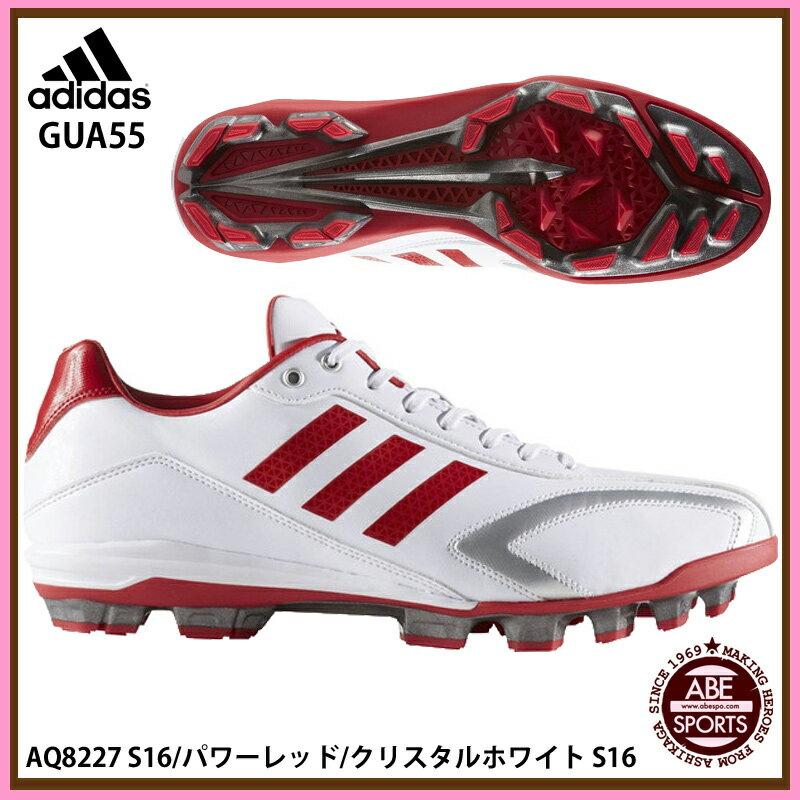 【アディダス】 T3 LOW ポイント 野球 スパイク/スパイク アディダス/adidas (GUA55) AQ8227 S16/パワーレッド/クリスタルホワイトS16