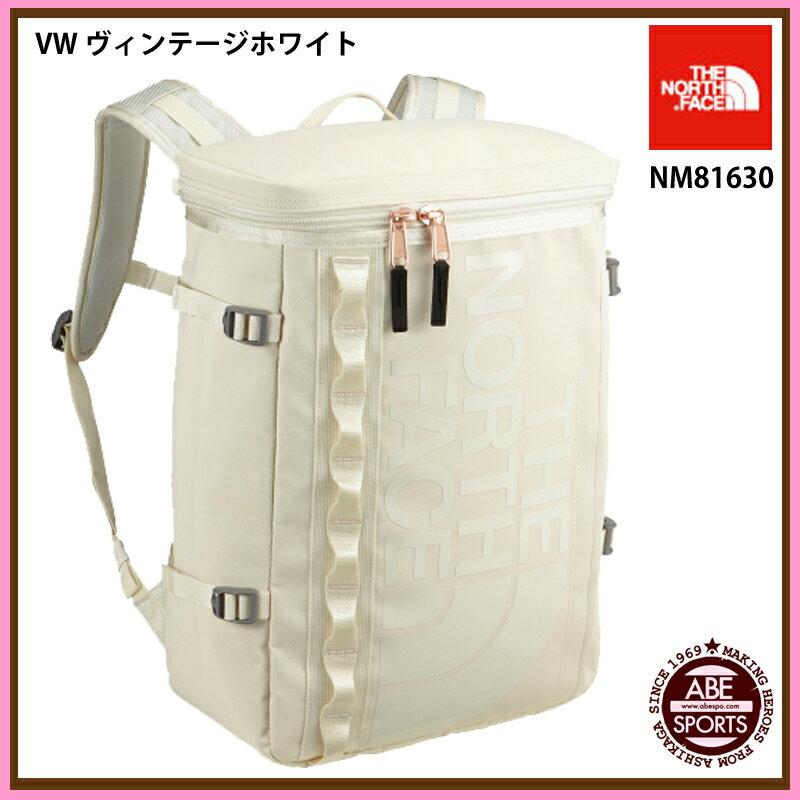 【THE NORTH FACE】BC Fuse Box BCフューズボックス/かばん/ノースフェイス/バッグ/バッグパック/リュック (NM81630) VW ヴィンテージホワイト