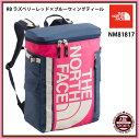 【THENORTHFACE】BCFuseBox2スポーツバッグ/アウトドア/ヒューズボックス/ノースフェイスバッグ(NM81817)RBラズベリーレッド×ブルーウィングティール