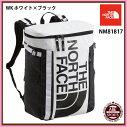 【THENORTHFACE】BCFuseBox2スポーツバッグ/アウトドア/ヒューズボックス/ノースフェイスバッグ(NM81817)WKホワイト×ブラック