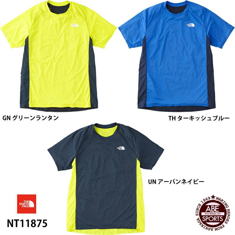 ネコポス選択可 【THE NORTH FACE】S/S Hypervent Crew ショートスリーブハイパーベントクルー(メンズ) スポーツウェア/Tシャツ/ザ・ノースフェイス (NT11875)