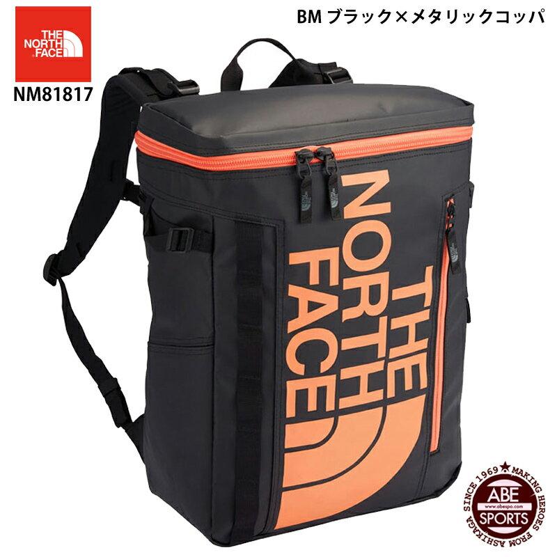 【THE NORTH FACE】BC Fuse Box II ヒューズボックス/ノースフェイス バッグ (NM81817) BM ブラック×メタリックコッパ