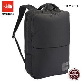【THE NORTH FACE】Shuttle Daypack シャトルデイパック/ノースフェイス/スポーツバッグ(NM81863) K ブラック