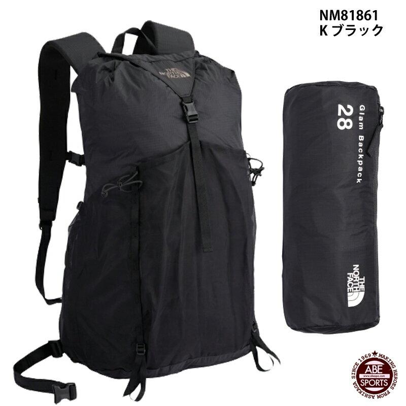【THE NORTH FACE】Glam Daypack グラムデイパック/ノースフェイス/スポーツバッグ (NM81861) K ブラック