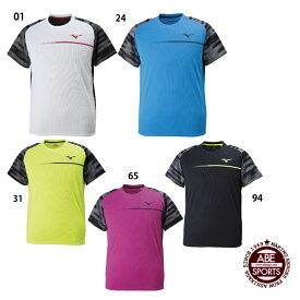 ネコポス選択可 【ミズノ】プラクティスシャツ Tシャツ/ランニングウェア/スポーツウェア ミズノ/MIZUNO (U2MA8011)