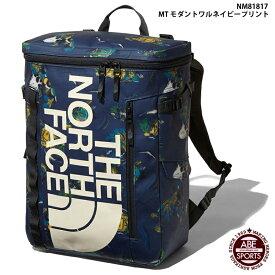 【THE NORTH FACE】BC Fuse Box 2 スポーツバッグ/アウトドア/ヒューズボックス/ノースフェイス バッグ (NM81817) MT モダントワルネイビープリント
