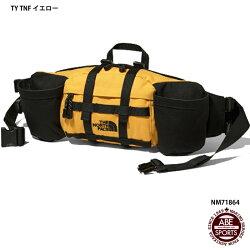 【THENORTHFACE】MountainBikerLumbarPackマウンテンバイカーランバーパックウェストバッグかばんアウトドア(NM71864)TYTNFイエロー