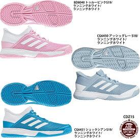 【アディダス】adizeroCLUB K アディゼロクラブ/テニスシューズ/ジュニア/キッズ/オールコート/adidas(CDZ15)
