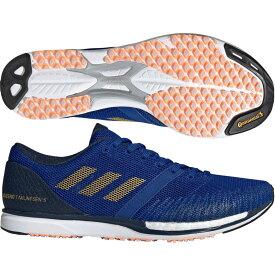 【アディダス】 adizero takumi sen 5 アディゼロタクミセン/アディゼロ/ランニングシューズ/マラソンシューズ/駅伝/adidas (BAZ50) G28890 カレッジロイヤル/ゴールドメット/カレッジネイビー